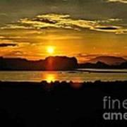 Lake Powell Sunrise Poster