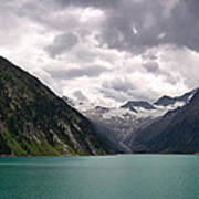 Lake Schlegeis Poster