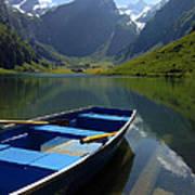 Lake Seealpsee Alpstein Canton Appenzell Switzerland Poster