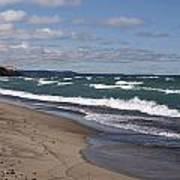 Lake Superior Shoreline Poster