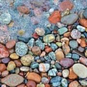 Lake Superior Stones 3 Poster
