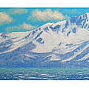 Lake Tahoe After The Storm Triptych Poster