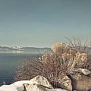 Lake Tahoe Winter Poster