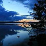 Lake Umbagog Sunset  Poster