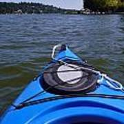 Lake View From Kayak Poster