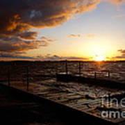 Lake Waconia Sunset Poster