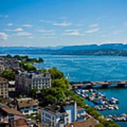 Lake Zurich Poster