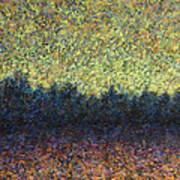Lakeshore Sunset Poster