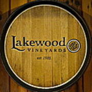 Lakewood Vineyards Poster