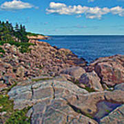 Lakies Head In Cape Breton Highlands Np-ns Poster