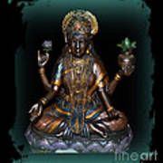 Lakshmi Hindu Goddess Poster by Eva Thomas