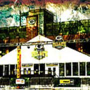 Lambeau Field - Tundra Tailgate Zone Poster by Joel Witmeyer
