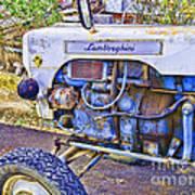 Lamborghini Classic Tractor Poster