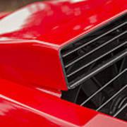 Lamborghini Countach Intake Poster