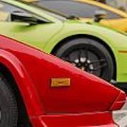 Lamborghini Countach Nose Poster