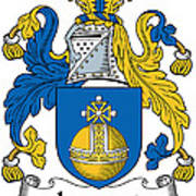 Lamont Coat Of Arms Irish Poster