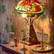 Lamp And Menorah Poster