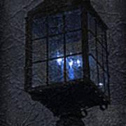 Lamp Post Blues Poster