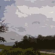 Landing Beyond The Trees Poster