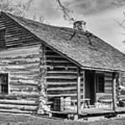 Landow Log Cabin Poster