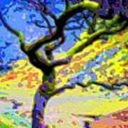 Landscape Art Tree Life Poster