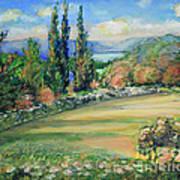 Landscape From Kavran Poster