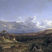 Landscape In Dauphine Poster