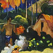 Landscape In Tahiti.mahana Maa Poster