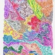 Landscape Of Color Poster