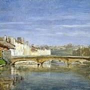 Landscape Oil On Canvas Poster