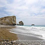 Seascape  Paphos Cyprus Poster