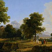 Landscape. Site Of Greece Poster