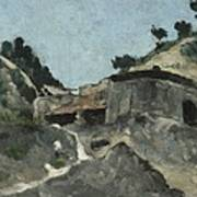 Landscape With Water Mill, C.1871 Poster
