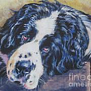 Landseer Newfoundland Dog Poster