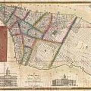 Langdon Pocket Map Of New York City Poster