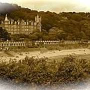 Langland Bay Gower Wales Poster