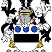 Langley Coat Of Arms Irish Poster