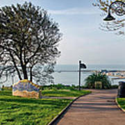 Langmoor-lister Gardens -- Lyme Regis Poster