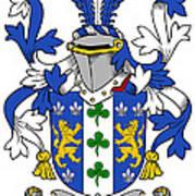 Lanigan Coat Of Arms Irish Poster