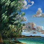 Lanikai Beach Poster