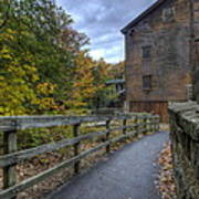Lanterman's Mill In Fall Poster