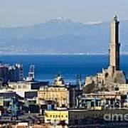 Lanterna - Lighthouse In Genova Poster
