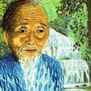 Lao Tzu Poster by Jane Small