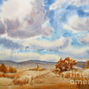 Large Prairie Sky Poster