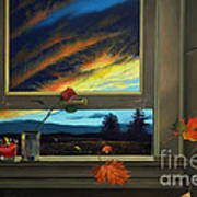 Late Autumn Breeze By Christopher Shellhammer Poster
