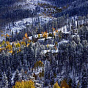 Late Fall In Vail Poster