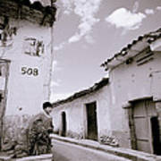 The Alleys Of Cuzco Poster