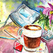 Latte Macchiato In Italy 01 Poster
