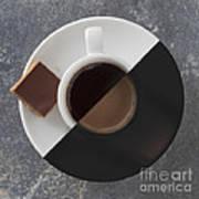 Latte Or Espresso Poster