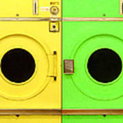 Laundromat Drying Machines Two 20130801a Poster